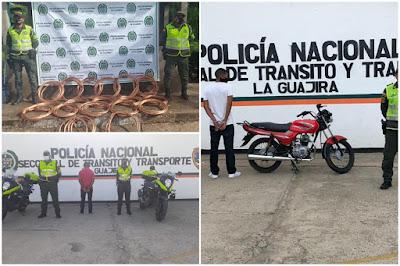 hoyennoticia.com, Uno andaba en una moto robada y otro conducía con licencia  suspendida