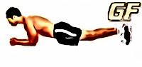 Variasi latihan plank elbow
