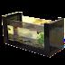 Bể cá mini khung gỗ