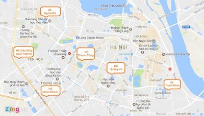 Giá bán chung cư ven hồ tại Hà Nội khoảng bao nhiêu?