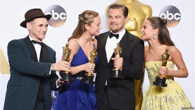 gagnants Oscars 2016