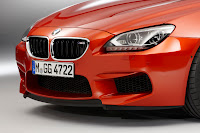 latest 2012 BMW M6 Coupé F12 front grill head lights front lamps