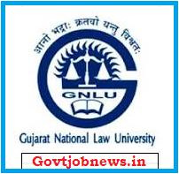 GNLU Recruitment 2020