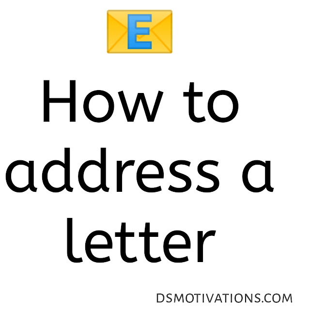 wikiHow :- How to address a letter.