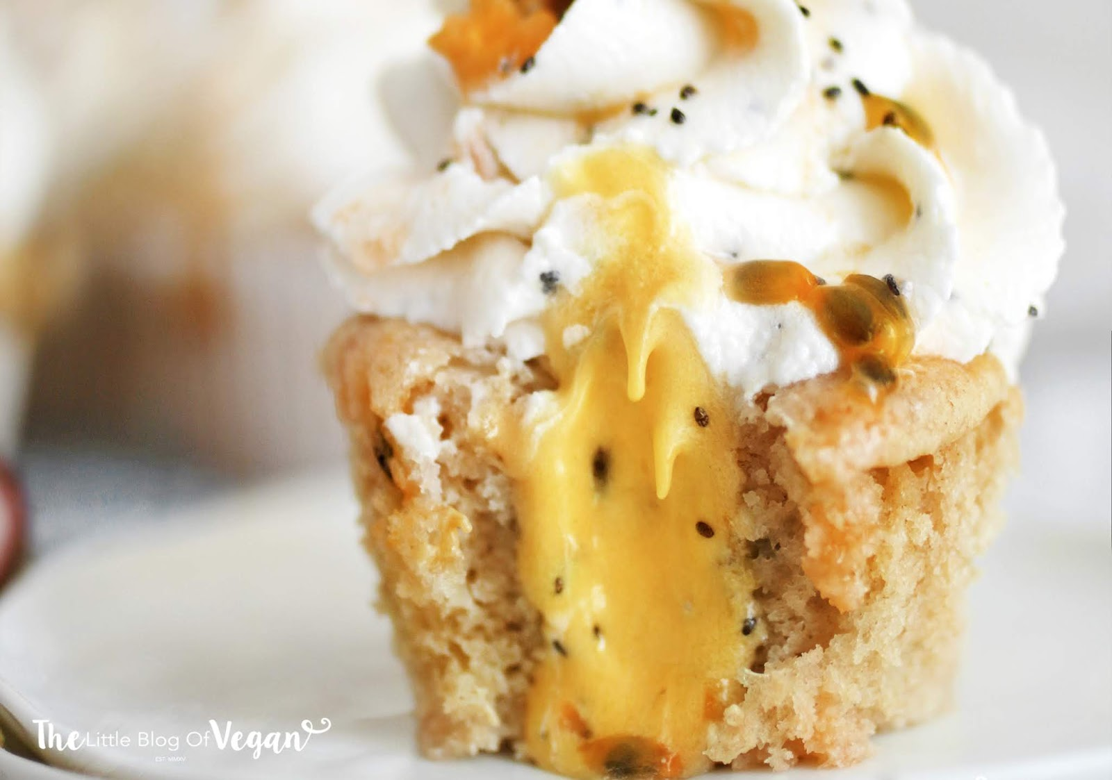Passionfruit cupcakes recipe   Ft Sproud
