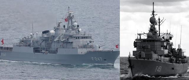 Η φρεγάτα «Λήμνος» έστειλε την τουρκική «Kemal Reis» στο… ναυπηγείο