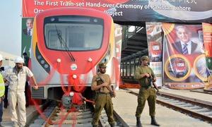 SC sets aside LHC decision against Orange Line train, orders Punjab govt to complete project