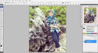 cara membuat efek foto jaman dulu di photoshop CS3