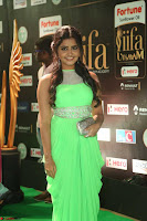 Anupama Parameshwaran cute beauty in Neon Green gown at IIFA Utsavam Awards 2017  Day 2  HD Exclusive 12.JPG