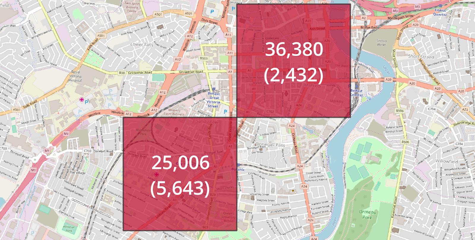 Belfast Stats Maps n Pix