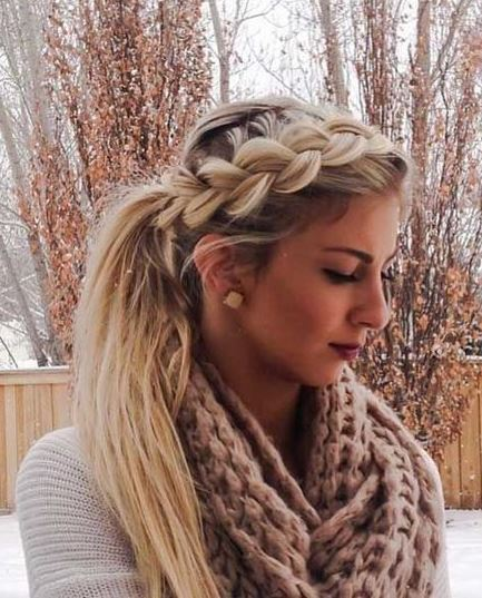 best braid hairstyle for this winter