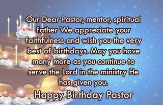 Birthday Wishes for Pastor, Happy Birthday Pastor, Priest Bday Wishes