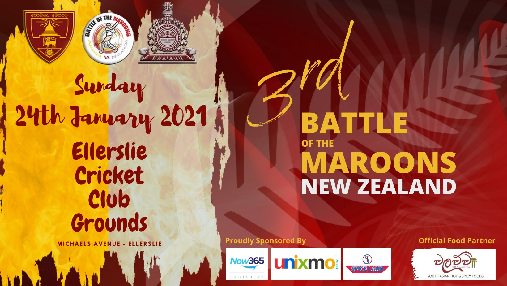 The 3rd Battle of the Maroons New Zealand