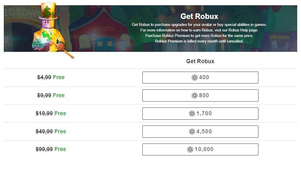 Free Robux Generator For Roblox 2020 لم يسبق له مثيل الصور Tier3 Xyz