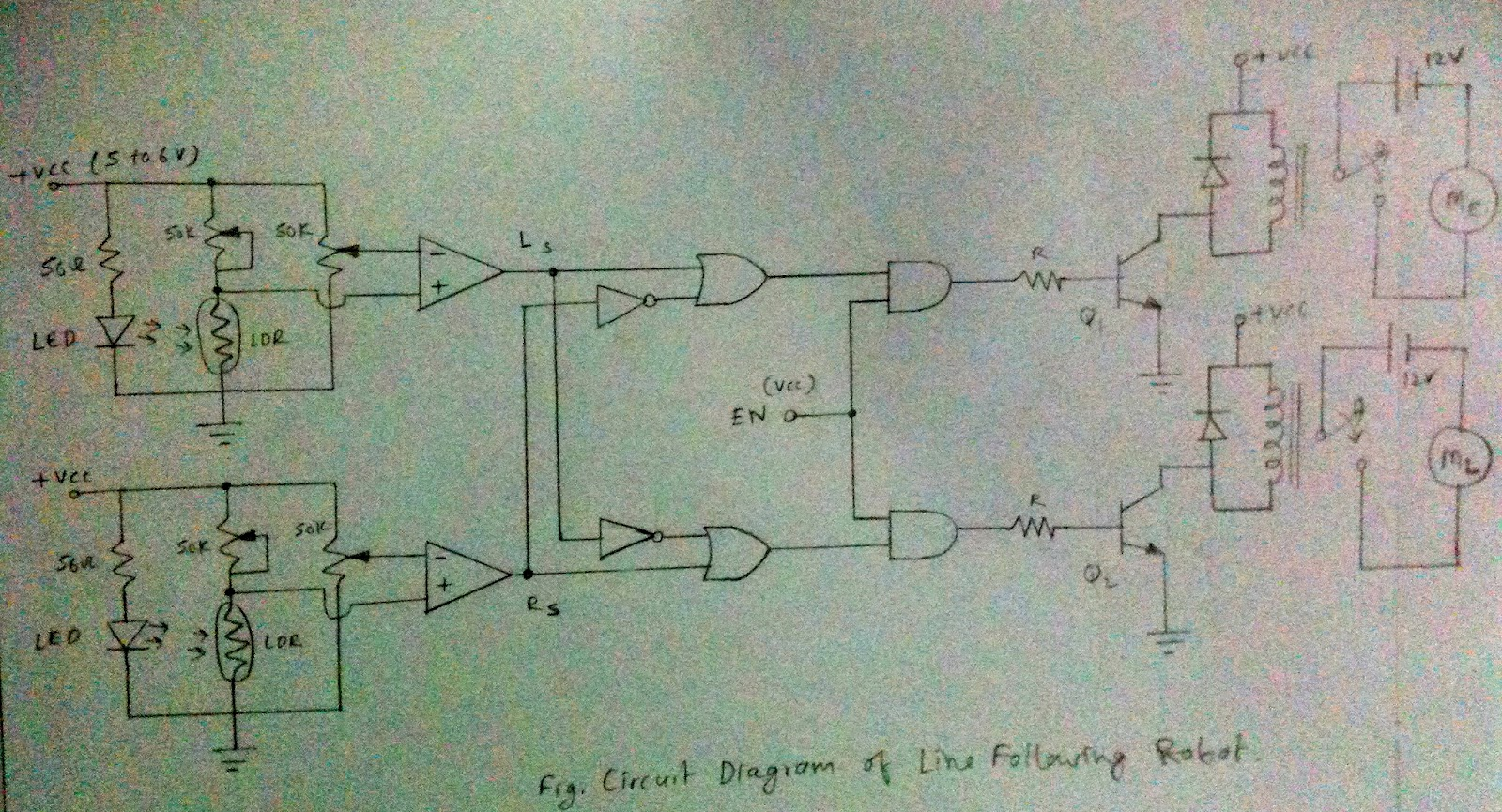 Darlington Transistor Pair Logic Probe