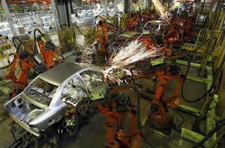 औधोगिक रोबोट यूनिट्स में भारत का स्थान