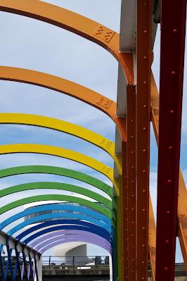 puente, pasarela, San Sebastián, Niemeyer