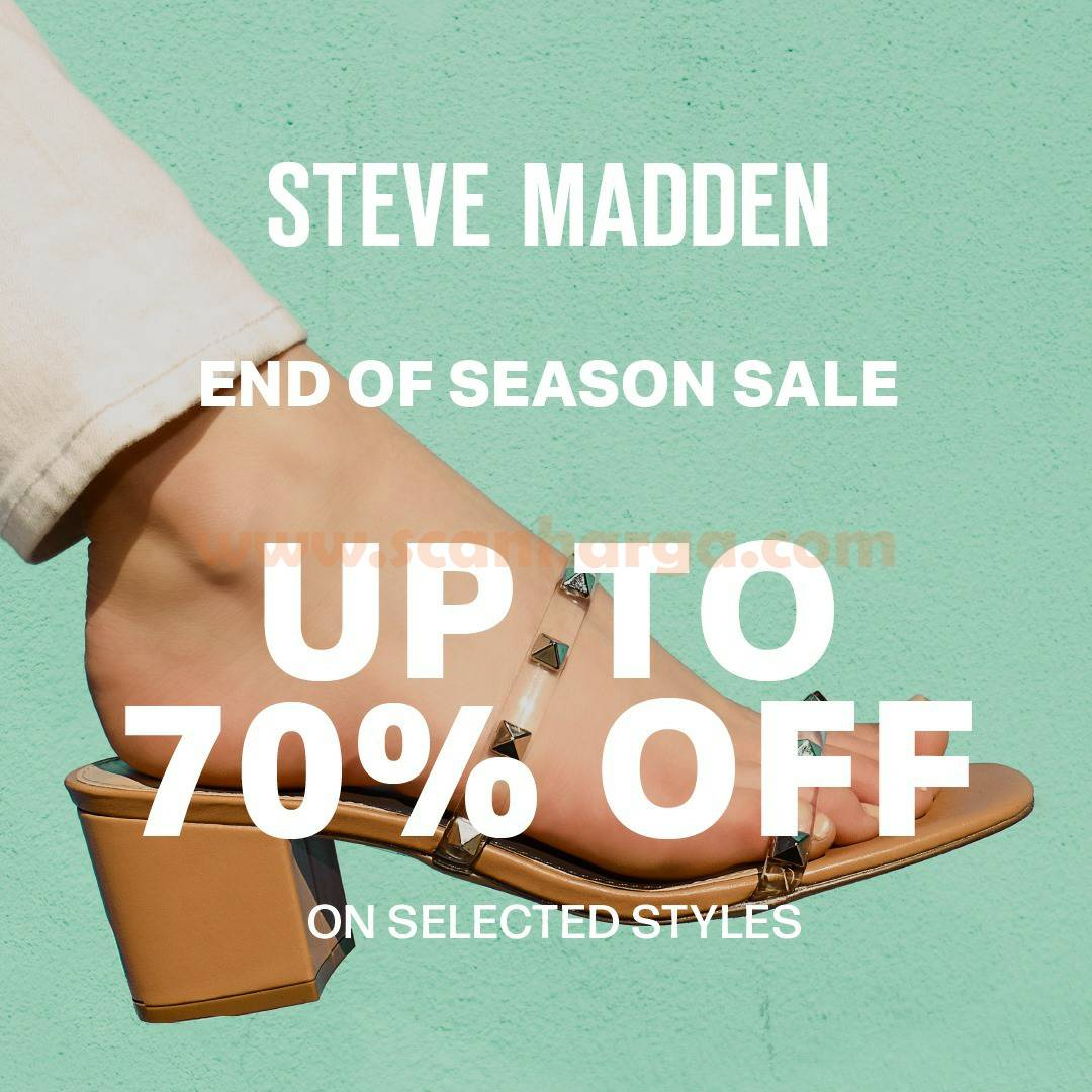 Steve Madden Promo End Of Season Sale Disc up to 70% off