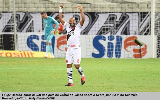 www.seuguara.com.br/Felipe Bastos/Vasco/Brasileirão 2020/