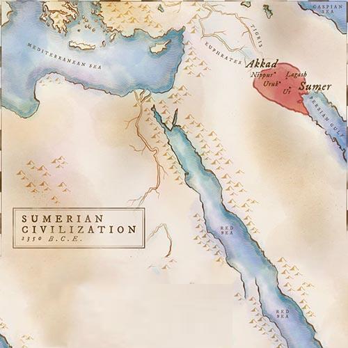 Phương án đấu quân Sumerian chỉ trong AOE