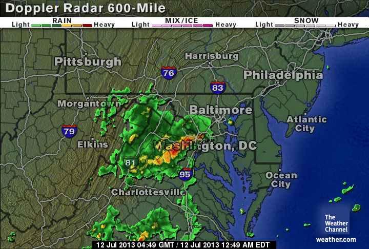 weather channel chicago live radar