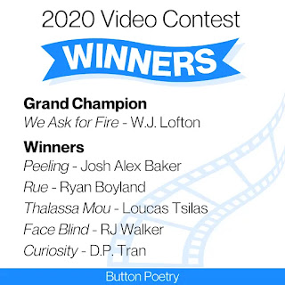 Button Poetry Contest winners