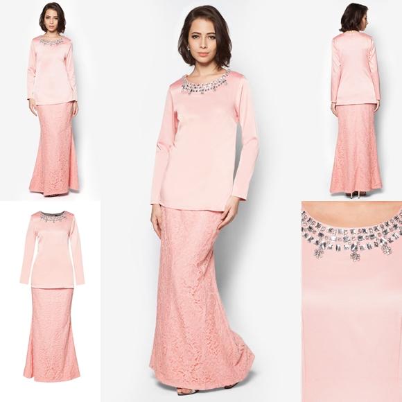 Baju Kurung Moden Minimalis Baju Raya 2016 Fesyen Trend Terkini