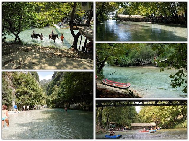 Γλυκή Θεσπρωτίας: Στη σκιά από τα τεράστια πλατάνια και τη δροσιά που χαρίζουν τα πεντακάθαρα νερά του Αχέροντα