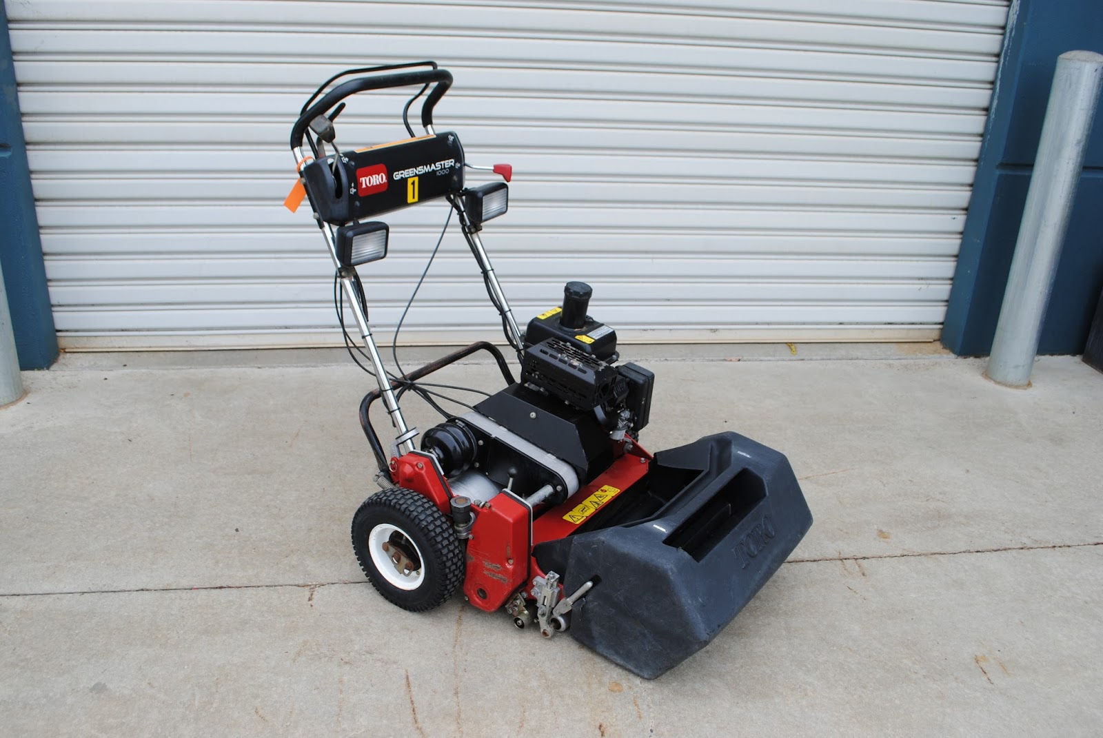 Cyclone Rake For Sale >> CHRISTIE PACIFIC MACHINERY - NEW AND USED: Toro Greensmaster 1000 Reel Mower.
