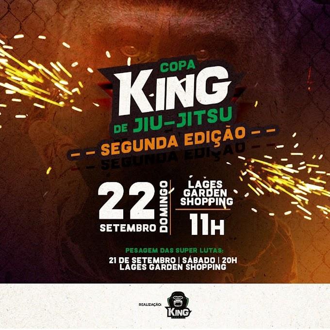 Neste domingo tem a 2ª edição da Copa King Lages no Garden Shopping