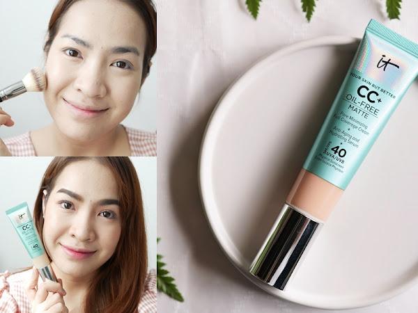 IT Cosmetics Your Skin But Better CC + Oil Free Matte ปรับผิวให้สวยธรรมชาติ แต่คุมมัน