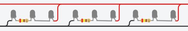LED light strip schematic