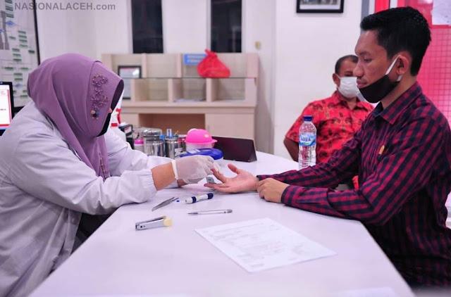 Tarmizi, SP Anggota DPRA Mengajak Masyarakat Untuk Donor Darah Bantu Pasien