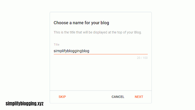 How to start a free blog on blogger