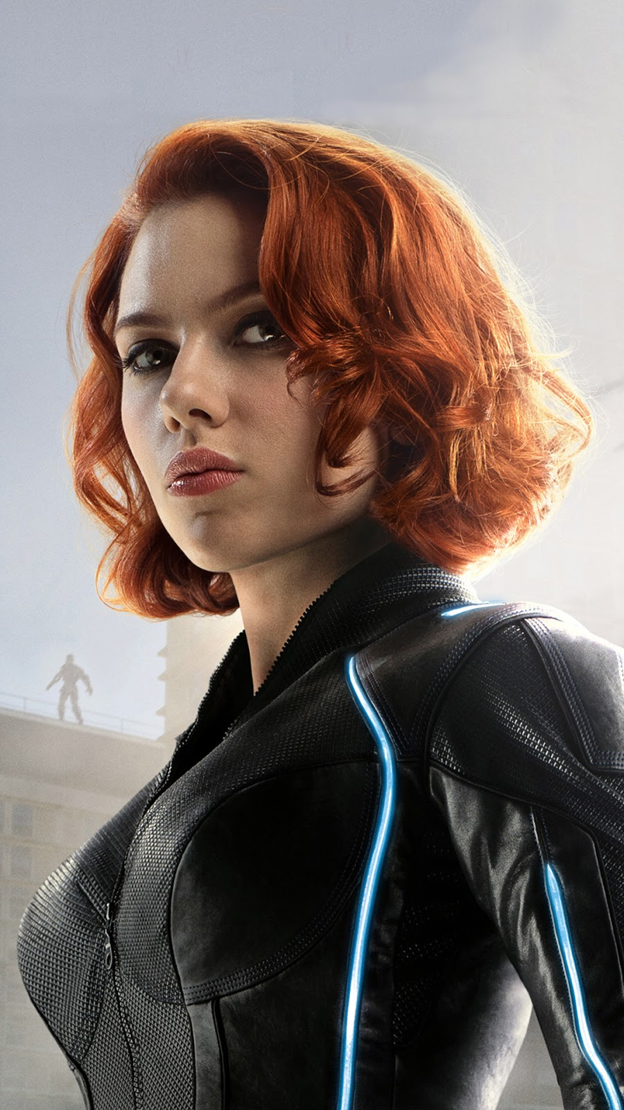 Black Widow Mobile Wallpaper Age of Ultorn.