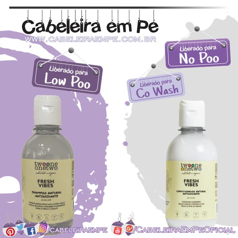 Shampoo e Condicionador Natural Fresh Vibes Abacaxi - Twoone Onetwo