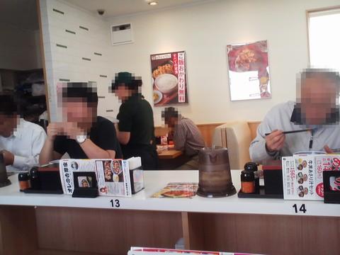 店内1 吉野家258号線大垣店