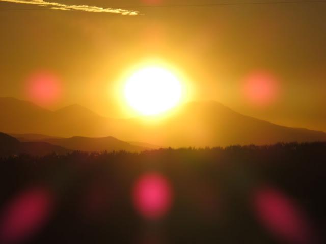 Sonnenuntergang in Lipez