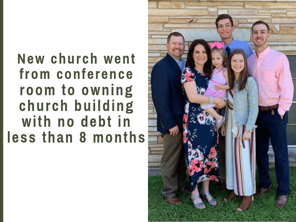 The church plant that went from hotel conference room to owning their own church and property with no debt in 8 months