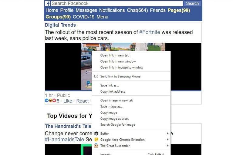 Download Video Facebook Lewat HP
