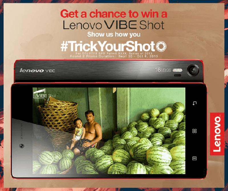 Raffle Alert! Win A Brand New Lenovo Vibe Shot!