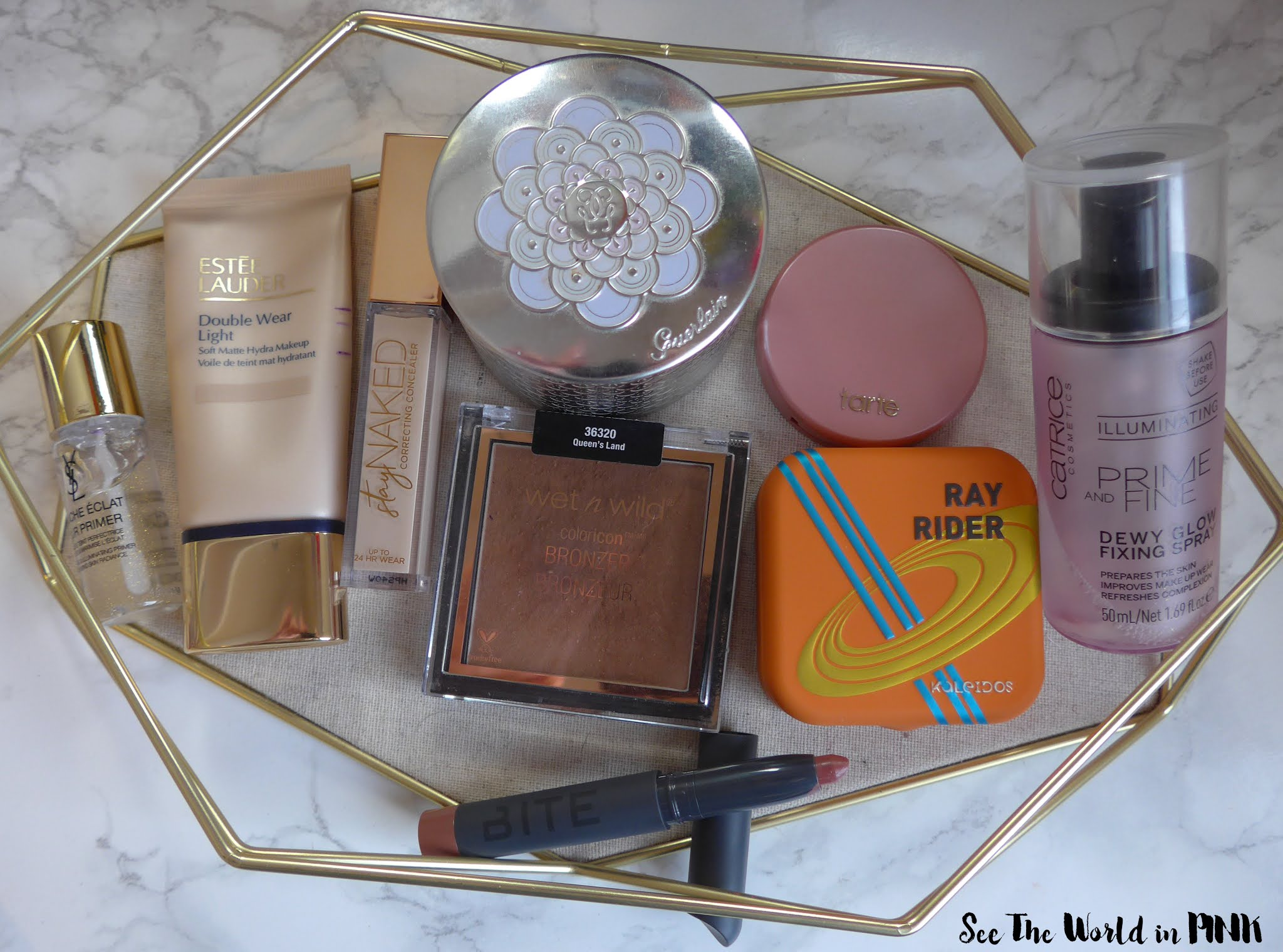 January Shop My Stash - Pantone Colour of the Year Ultimate Grey & Illuminating Makeup Look