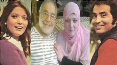 ظهور من جديد لـ شمس البارودي وزوجها النجم حسن يوسف وأفراد من العائلة