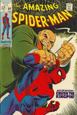 Amazing Spider-Man #69, the Kingpin