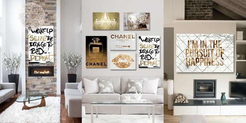 Oliver Gal moderna umetnicka dela na kanvasu.