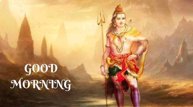 good morning pictures with lord shiva