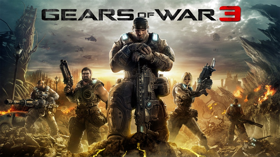 Gears of War 3 PC Download Poster