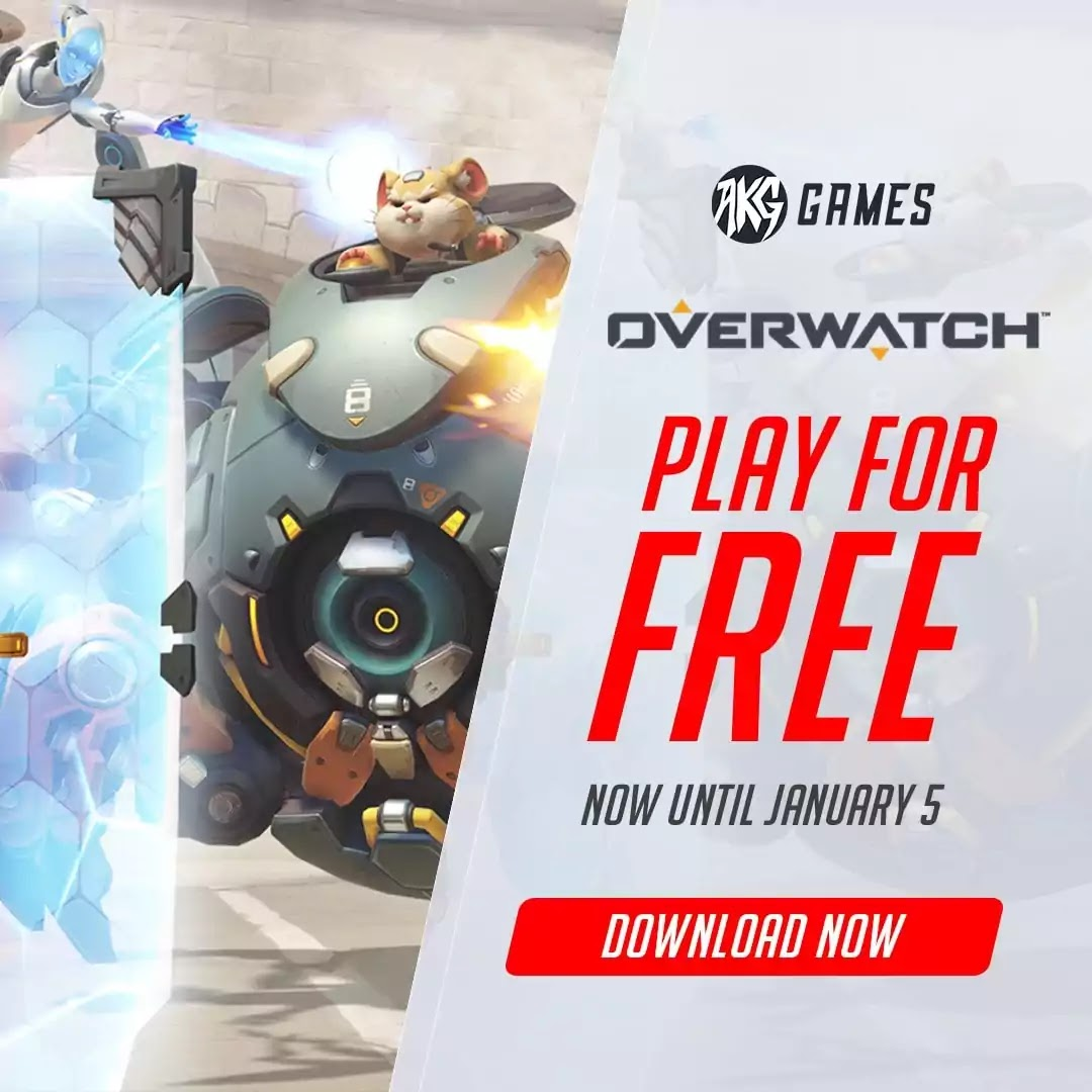 Try Overwatch for FREE