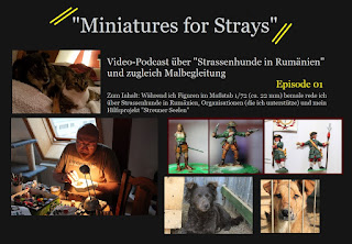 Miniatures for Strays 1/72 Tom Pedall Streuner Seelen Wuppertal