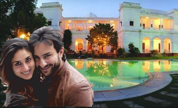 saif ali khan and kareena house inside